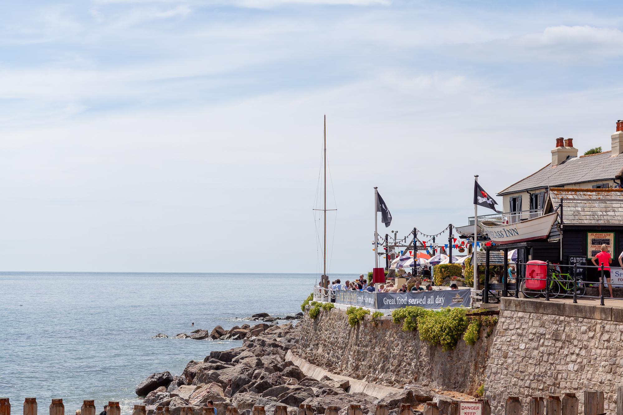 Spyglass Inn from Ventnor Beach