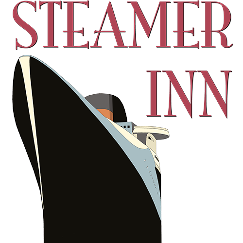 This image has an empty alt attribute; its file name is The-Steamer-Inn-Logo.png